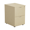 Essential - 2 Drawer Filing Cabinet Maple