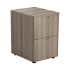 Essential - 2 Drawer Filing Cabinet Grey Oak