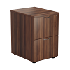 Essential - 2 Drawer Filing Cabinet Dark Walnut