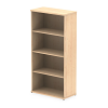 Impulse Bookcase 1600 Maple