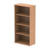 Impulse Bookcase 1600 Oak