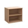 Duo Desk High Bookcase Beech