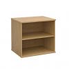 Duo Desk High Bookcase Oak