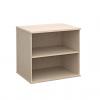 Duo Desk High Bookcase Maple
