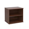 Duo Desk High Bookcase Walnut