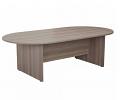 Smart 2400mm Boardroom Table Grey Oak