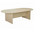 Smart 2400mm Boardroom Table Maple