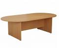 Smart 2400mm Boardroom Table Oak