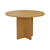Smart 1100mm Meeting Table Oak