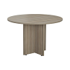 Smart 1100mm Meeting Table Grey Oak