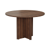 Smart 1100mm Meeting Table Walnut