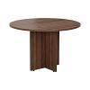 Smart 1100mm Meeting Table Walnut