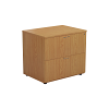 One - 2 Drawer Side Filer Oak