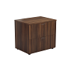 One - 2 Drawer Side Filer Dark Walnut