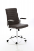 Ezra Executive Leather Chair Brown