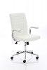 Ezra Executive Leather Chair White