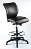 E-Tek M14 ESD Draughtsman Chair Black