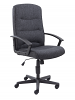 Canasta 2 Fabric Executive Chair Black