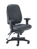 Vista High Back Office Chair Black