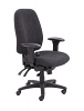 Vista High Back Office Chair Charcoal