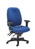 Vista High Back Office Chair Blue