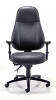 Cheetah 24 Hour Leather Office Chair - Front