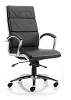 Classic Executive Chair With Arms Black