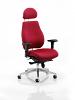 Chiro Plus Ergo Posture Chair With Headrest Wine
