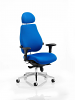 Chiro Plus Ultimate With Headrest Blue