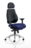 Chiro Plus Ultimate With Headrest Bespoke Colour Seat Stevia Blue