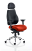 Chiro Plus Ultimate With Headrest Bespoke Colour Seat Tobasco Red