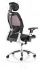 Sanderson II Black Fabric Mesh Back Chair