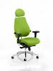 Chiro Plus Ultimate With Headrest Bespoke Colour Myrrh Green