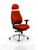 Chiro Plus Ultimate With Headrest Bespoke Colour Tobasco Red