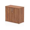 Impulse 600 Desk High Cupboard Walnut