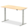 Air Height Adjustable Desk Maple