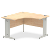 Impulse 1200 Corner Desk with Cable Managed Leg Maple