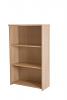 Basix 1200 Basic bookcase Oak