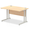 Impulse Cantilever 1200 Rectangle Desk Maple