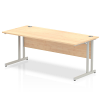 Impulse Cantilever 1800 Rectangle Desk Maple