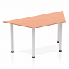 Impulse Trapezium Table 1600 Beech