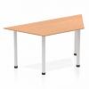 Impulse Trapezium Table 1600 Oak