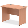 Impulse Panel End 1000 Return Desk Beech