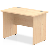 Impulse Panel End 1000 Return Desk Maple