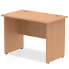 Impulse Panel End 1000 Return Desk Oak