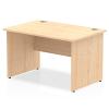 Impulse Panel End 1200 Rectangle Desk Maple