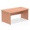 Impulse 1600 Left Hand Wave Desk Beech