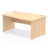 Impulse 1600 Right Hand Wave Desk Maple