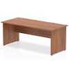 Impulse Panel End 1800 Rectangle Desk Walnut