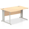Impulse 1400 Left Hand Wave Desk Maple